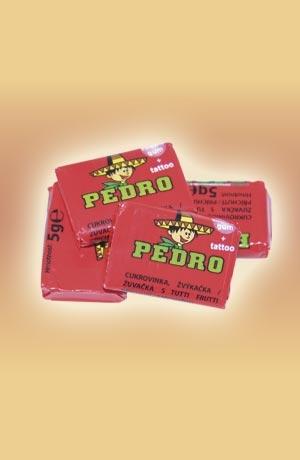 Pedro žuvačky 50x5g