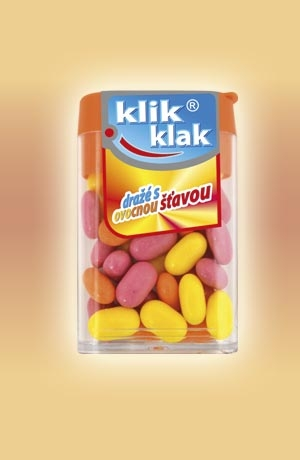 KLIK - KLAK ovocný 20x16g
